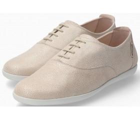Mephisto Kaliana Nubuck Lace-up Shoe for Women - Light Sand
