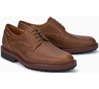 Mephisto Batiste Smooth Leather Lace-Up Shoe for Men Chestnut