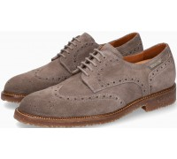 Mephisto Piers Suede Lace-Up Shoe for Men Dark Grey