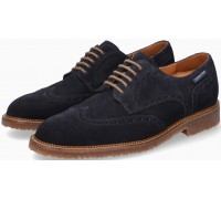 Mephisto Piers Suede Lace-Up Shoe for Men Blue