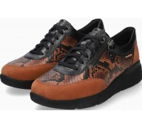 Mobils by Mephisto Ivonia Leather Mix & Nubuck Sneaker for Women - Wide Fit - Hazelnut