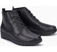 Mobils by Mephisto Arielle Leather Ankle Boots Women - Wide Fit - Black