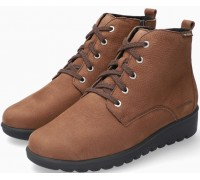 Mobils by Mephisto Arielle Nubuck Ankle Boots Women - Wide Fit - Brown