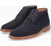 Mephisto Polo blue suede ankle boot for men