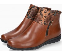 Mobils by Mephisto Catalina Leather Ankle Boots Women - Wide Fit - Brown