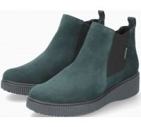 Mephisto Emie suede chelsea ankle boots women - forest green
