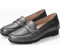 Mephisto Diva leather slip-on shoes for women - graphite