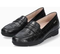 Mephisto Diva leather slip-on shoes for women - black