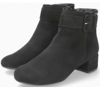 Mephisto Balina Women Ankle Boot Suede - Black