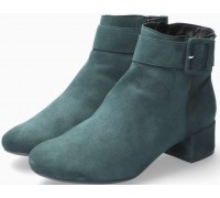 Mephisto Balina Women Ankle Boot Suede - Forest Green