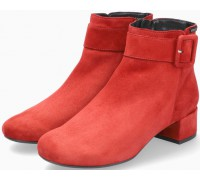 Mephisto Balina Women Ankle Boot Suede - Red