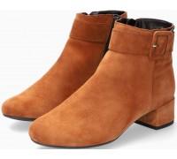 Mephisto Balina Women Ankle Boot Suede - Hazelnut