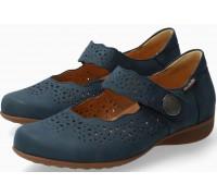 Mobils by Mephisto Fabienne blue nubuck shoe