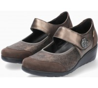 Mobils by Mephisto Bathilda Textile Pumps for Women - Wide Fit - Brown