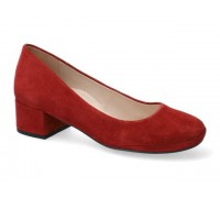 Mephisto Brity suede pumps for women - Red