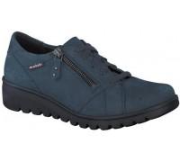 Mephisto Aurora blue lace shoe women