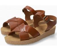 Mephisto Candie Women's Sandal Smooth Leather - Hazelnut