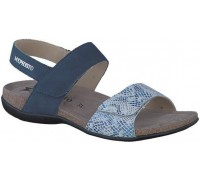 Mephisto AGAVE Women Sandal Nubuck Blue