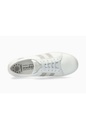 Mephisto Elysia Smooth Leather Sneaker for Women - White