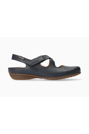 Mephisto FiorineWomen's Sandal Smooth Leather - Deep Blue