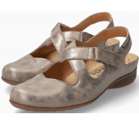 Mephisto Fiorine Women's Sandal Smooth Leather - Dark Taupe