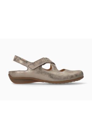 Mephisto FiorineWomen's Sandal Smooth Leather - Dark Taupe