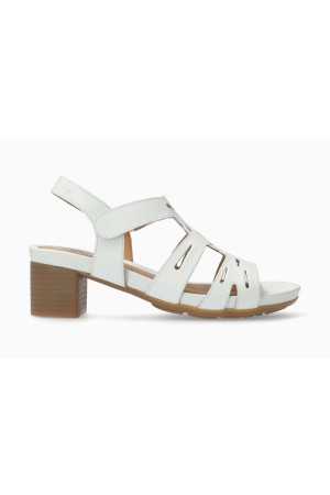 Mephisto Blanca Women's Sandal Smooth Leather - White