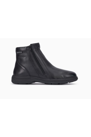 Mephisto Dan Men's Ankle Boots Smooth Leather - Black
