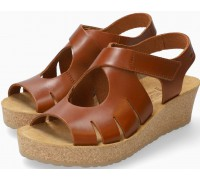Mephisto Misha Women's Sandal Smooth Leather - Brown
