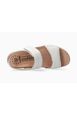 Mephisto Maureen Smooth Leather Women's Sandal - White