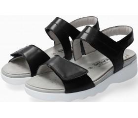 Mephisto Maureen Smooth Leather Women's Sandal - Black