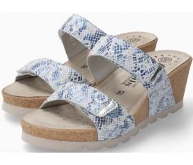 Mephisto Adelina Women's Sandal Patent Leather - Blue