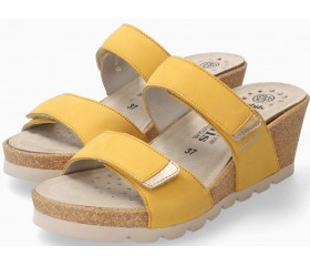 Mephisto Adelina Women's Sandal Nubuck - Yellow