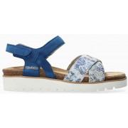 Mephisto Tamia Women's Sandal Suede - Blue