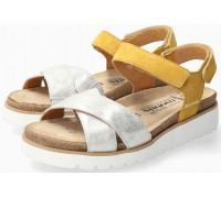 Mephisto Tamia Women's Sandal Suede - Yellow