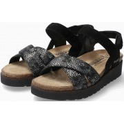Mephisto Tamia Women's Sandal Suede - Dark Grey