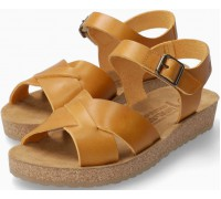Mephisto Candie Women's Sandal Smooth Leather - Yellow