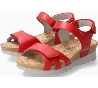 Mephisto QUIRINA Women's Sandal Smooth Leather - Red