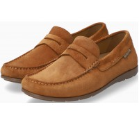 Mephisto ALYON Men's Mocassin Suede - Brown