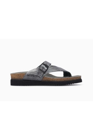 Mephisto Helen Women's Sandal Leather - Grey