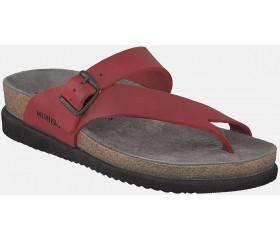 Mephisto Helen Women's Sandal Nubuck Leather - Red