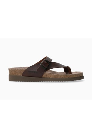 Mephisto Helen Women's Sandal Nubuck Leather - Brown