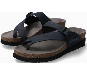Mephisto Helen Women's Sandal Nubuck Leather - Blue
