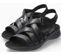 Mephisto Eliona Women Sandal Smooth Leather - Black