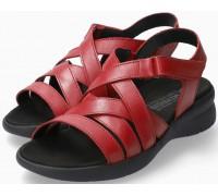 Mephisto Eliona Women Sandal Smooth Leather - Red
