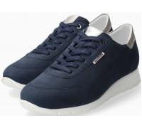 Mephisto Dorothe nubuck lace-up shoe women - blue