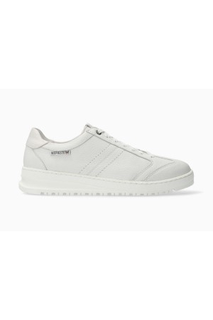 Mephisto JUMPER white smooth leather lace up shoes for men