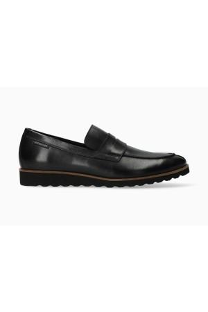 Mephisto Vilfredo black leather slip-on shoe for men