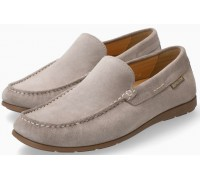 Mephisto Algoras grey suede slip-on shoe for men