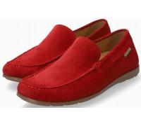 Mephisto Algoras red suede slip-on shoe for men